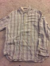 Tommy Bahama Men's Long Sleeve Shirt Size Large Plaid