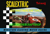 Scalextric 1961 Catalogue Cover Large Size Poster Advert Sign Leaflet fantastic!