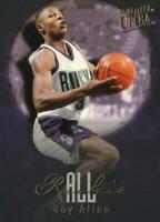 1996-97 FLEER ULTRA ALL ROOKIE RAY ALLEN #2 of 15 - MINT PERFECT