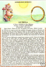 Fantaisie - cpsm - Astrologie hindoue - Le Thula ( i 4871)