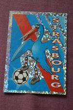 VIGNETTE PANINI SUPERFOOT FOOTBALL 1997 98 // N°17 ECUSSON STRASBOURG
