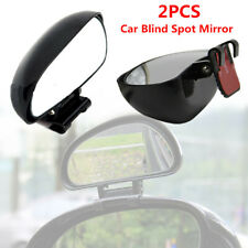 A Pair Car Blind Spot Rear View Mirror SUV's Adjustable Rotation Wide Angle Lens