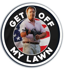 Ken and Karen Gun Rights Stay off my Lawn Decal Sticker Ar