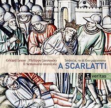 ALESSANDRO SCARLATTI: SEDECIA, RE DI GERUSALEMME NEW CD