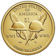 2016 NATIVE AMERICAN (SACAGAWEA) DOLLAR P or D 1-COIN BRILLIANT UNCIRCULATED