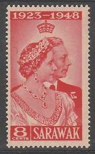 Sarawak 8c Royal Silver Wedding 1948 Mnh # E 110