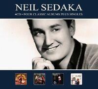 Neil Sedaka - 4 Classic Albums Plus Singles [New CD] Germany - Import