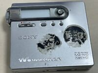 Sony Net MD MZ-N10 Portable Minidisc Player Walkman MDLP (untested)