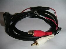30Pin Ipod Connect Cable to RCA AUX Car STEREOS (Connection Via RCA jacks)