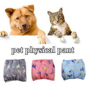 Female / Male Dog Puppy Nappy Diapers Belly Wrap Band Sanitary Pants Underpants