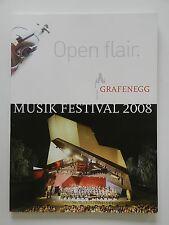 Open flair Grafenegg Musik Festival 2008 Rudolf Buchbinder Erwin Pröll