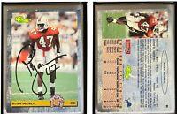 Ryan McNeil Signed 1993 Classic #86 Card Detroit Lions Auto Autograph