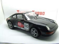 PORSCHE 911 CARRERA Dickie in Nero SPINGI E VAI visualizza ben 235 mm di lunghezza