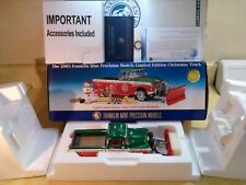 FRANKLIN MINT 1955 CHEVY CAMEO PICKUP RARE LE 2003 CHRISTMAS..1:24..STILL SEALED