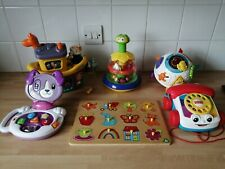 BUNDLE OF BABY TODDLER TOYS -  FISHER PRICE VTECH, LITTLE TIKES ELC OTHERS, Etc
