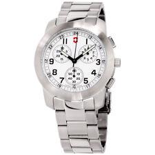 Victorinox Field White Dial Stainless Steel Men's Watch 26050CB
