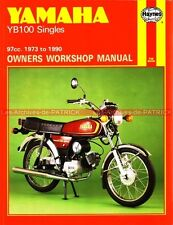 YAMAHA YB100 Singles YB 100 : Revue Technique Moto Haynes en Anglais / English