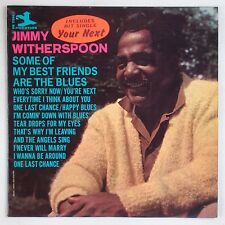 JIMMY WITHERSPOON: Some of my Best Friends are the Blues PRESTIGE Jazz LP Rare