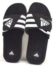 Adidas Adissage Sport Sandal 078260 Black Wht US Size 13 FREE SHIPPING BRAND NEW