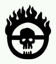 Mad Max Fury Road Immortan Joe Vinyl Sticker BLACK GLOSS