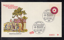 A-21) Germany: 1 beautiful  FDC / Letters / Covers / Rotes Kreuz / red Cross
