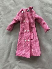 Francie 1966 Mod Red And White Tweed Coat #1261