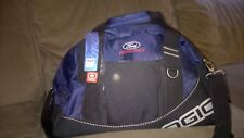 Ford Racing OGIO Half Dome Rare Discontinued Duffel Gym Bag Duffle Black Blue