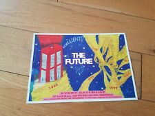THE FUTURE RAVE FLYER MAY 1993