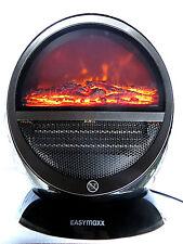 Heizstrahler EASYmaxx Kamin-Optik 800/1500W elektrische Heizung Heizlüfter Ofen