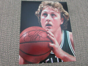 Larry Bird Boston Celtics 8x10 Photo No COA