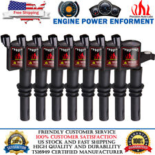 8 PACK IGNITION COIL FOR FORD F-150 4.6L 5.4L V8 TRITON 2004 2005 2006 2007 2008