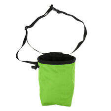 Rock Climbing Chalk Bag Dry Hand Powder Pouch & Adjustable Belt and Zip Bag
