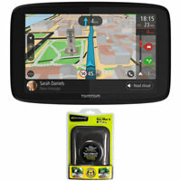 "TomTom GO 620 GPS 6"" Touch Screen (US-CAN-MEX) + Dash Mounting Bundle"