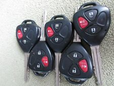 LOT OF 5 TOYOTA YARIS SCION TC KEYLESS 3 BUTTON  B41TG  REMOTES   FACTORY OEM