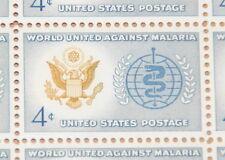 1962 sheet, Malaria Eradication, Sc# 1194