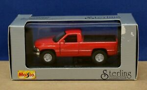 Maisto Sterling Coll 21101 1:43 Dodge Ram Pickup 1993-2001 Red MIB Sealed