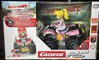 NEW Carrera RC 200999X Nintendo Mario Kart Peach Lithium Powered Quad RC