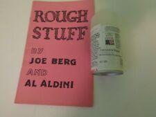 Rough Stuff by Joe Berg & Aldini (with Spray Can of the 'stuff'')