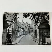 Church Street, Stow-on-the-Wold, Gloucestershire England RPPC Vintage Postcard