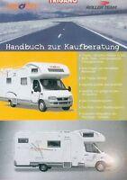 Trigano CI Roller Team Reisemobile Prospekt 2003 2004 brochure motor homes PKWs