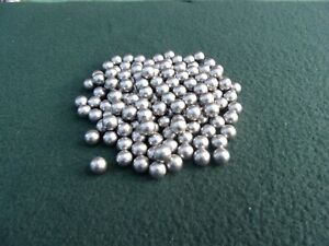 100  8.4mm approx round lead balls catapult slingshot ammo