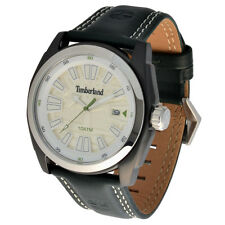 Timberland XL Mens Wrist Band Watch Dunster Model Series 13853jsbs/07A Leather