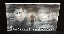 cadre plexiglas gravé gravure michael jackson 10X15 +trous+chevilles