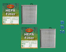 2 Electrolux #60286 H12 HF1 Eureka EL012W Vacuum Cleaner HEPA Filter Aptitude