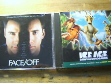 John Powell [2 CD Soundtrack] Ice Age 3 + Face / Off