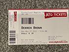 Derren Brown - Used Ticket - Sunderland Empire Front Row 27/5/15