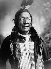 VINTAGE PHOTOGRAPHY B&W INDIAN FIRE LIGHTNING NATIVE FIRST NATIONS LV4852