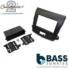 CT24MT09 Mitsubishi Outlander 2007 On Car Stereo Radio Single Din Fascia Panel
