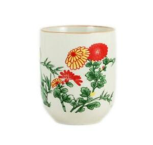 12PC Bamboo Design Chinese Teacup, Tea Cup [Seconds, Lower Quality] Wholesale
