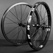 """20"""" BMX WHEELSET REVENGE  OEM BMX Wheelset 9t RHD Male Sealed Pair Black"""